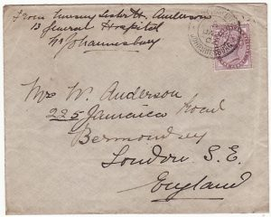 SOUTH AFRICA-GB [BOER WAR -NURSES MAIL]