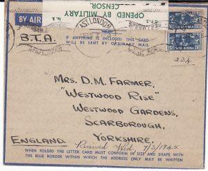 SOUTH AFRICA-GB [41 AIR SCHOOL RAF]