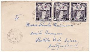 BRITISH GUIANA-SWITZERLAND [Village cancel]
