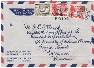 SWITZERLAND-BURMA [INTERNATIONAL LABOUR OFFICE]