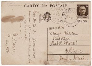 MONTENEGRO [WW2 ITALIAN OCCUPATION POW MAL]