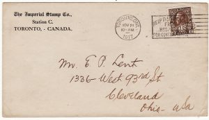 CANADA-USA [WW1 WAR TAX & PATRIOTIC]