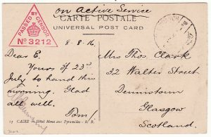 EGYPT-GB [No 2 AUSTRALIAN GENERAL HOSPITAL]