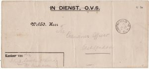 BOER WAR [IN DIENST CAPTURED STATIONARY]