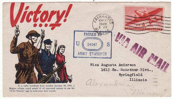 ALASKA-USA...1943 WW2 US FORCES VICTORY...
