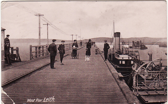 GREAT BRITAIN...WW1 NAVAL BASE at LEITH