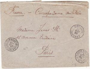 DAHOMEY-FRANCE...1898 MILITARY DELIMITATION MISSION]
