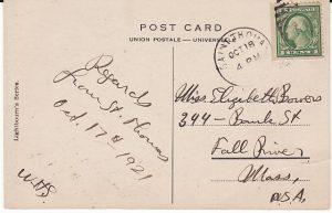VIRGIN ISLANDS-USA...1921 USA POSSESSIONS..