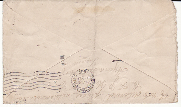 [17502]  GUAM-USA...1902 USA POSSESSIONS..  1902 (Nov ??)
