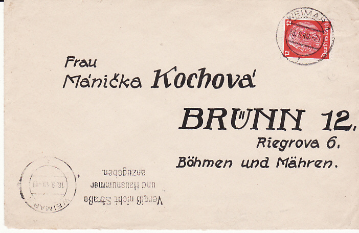 [11294]  GERMANY-BOHEMIA & MORAVIA...CONCENTRATION CAMP..BUCHENWALD...   1940(Sep 18)