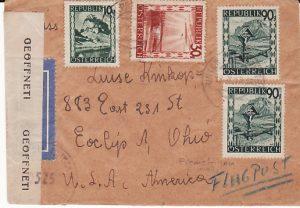 AUSTRIA-USA...1947 ALLIED OCCUPATION...