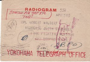 JAPAN - USA....1951 US OCCUPATION FORCES JAPANESE TELEGRAPHS ...