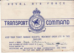 IRAQ - EGYPT....WW2 RAF TRANSPORT COMMAND...