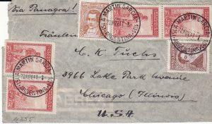 ARGENTINA - USA....GERMAN GRAF SPEE POW...