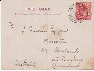BOER WAR - AUSTRALIA.....QUEENSLAND CONTINGENT in TRANSVAAL...