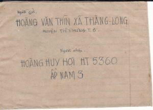 VIET-NAM...VIET-NAM WAR INGOING MAIL to VIET CONG SOLDIER...