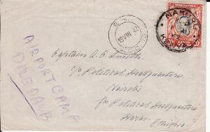 KENYA-ETHIOPIA [WW2-POLITICAL HQ- AIRPORT CAMP DIRE DAWA]