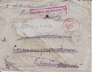 ????? - GB...WRECK MAIL from SS NORWEGIAN or ARMED MERCHANT CRUISER KARMALA ...