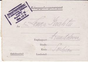 GERMANY - SERBIA...WW2 CENSORED POW MAIL...