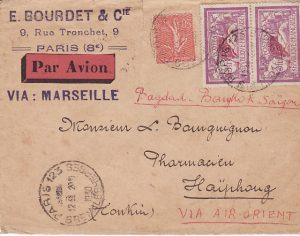FRANCE - INDO-CHINE...1930 AIRMAIL..