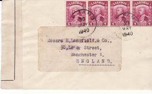 SARAWAK - GB...1940 CENSORED..