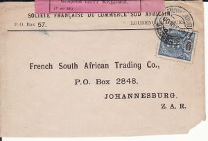 LOURENCO MARQUES - SOUTH AFRICA...1900 PORTUGUESE COLONY to BOER WAR ...