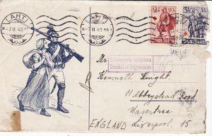 FINLAND - GB…1940 FINLAND WINTER WAR…