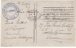 FRANCE...MILITARY MISSION CZECHOSLOVAKIA…
