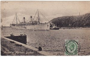 SOUTH AFRICA-FRANCE...WW1 DETAINED MAIL…