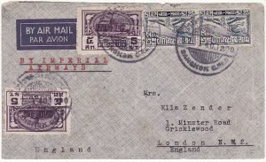 THAILAND-GB….WW2 IMPERIAL AIRWAYS…