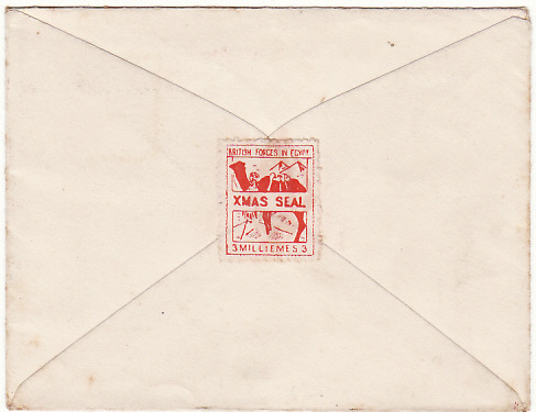 [15049]  EGYPT - GB…1935 XMAS NAFFI SEAL…  1935 (Oct 11)