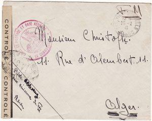 MOROCCO - ALGERIA….WW2 FRENCH AIR FORCE...