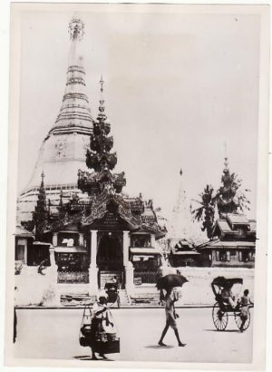 BURMA. 1942 OFFICIAL PRESS PHOTOGRAPH taken before JAPANESE OCCUPATION...