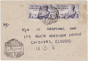 SPANISH GUINEA - USA….FERNANDO POO….