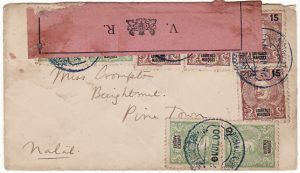 PORTUGUESE  EAST AFRICA - SOUTH AFRICA…1900 BOER WAR CENSORED...