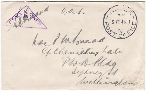 NORFOLK ISLAND - NEW ZEALAND...WW2 NEW ZEALND FORCES...