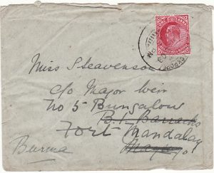 INDIA - BURMA…1909 72nd PUNJABI's