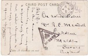 EGYPT - GB…WW1 AUSTRALIAN FORCES  ...