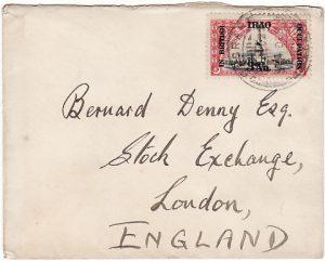 IRAQ - GB…..1922 IN BRITISH OCCUPATION …..