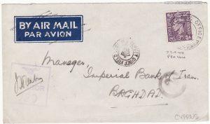 CYPRUS - IRAQ...WW2 RAF CENSORSHIP…