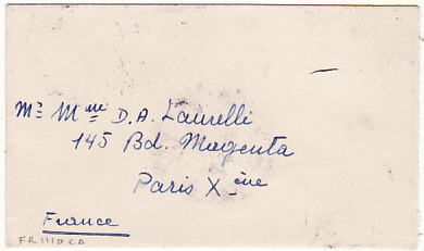 [15692]  LAOS-FRANCE...FIRST ISSUE ADHESIVES..  1954 (Jan 6)