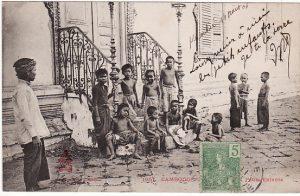 CAMBODIA...POST CARD of CHILDREN..