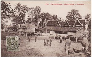 CAMBODIA...POST CARD of SIEM REAP...