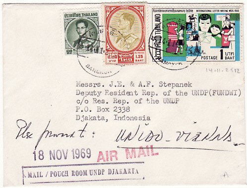 [16258]  THAILAND - INDONESIA...UNITED NATIONS DEVELOPMENT PROGRAM...   1959 (Nov 14)