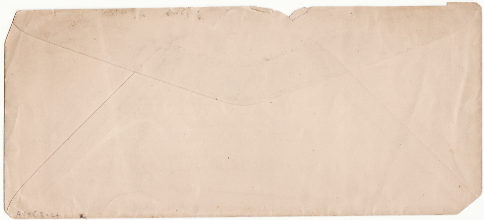 [17134]  HAWAII...1900 INTERNAL with CLIPPED CORNERS for DISINFECTION...  1900 (Feb 7)