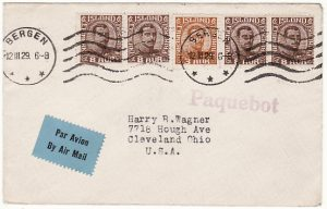 ICELAND/NORWAY-USA [AIRMAIL-PAQUEBOT]