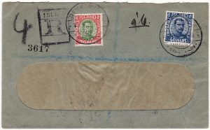 ICELAND-CZECHOSLOVAKIA [REGISTERED WINDOW ENVELOPE]