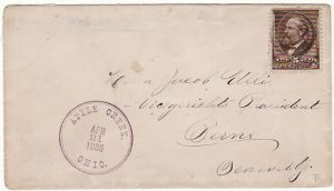 USA-SWITZERLAND [1886 APPLE CREEK