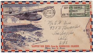 HAWAII-USA [WW2 CLIPPER FLIGHT-USS LEXINGTON]