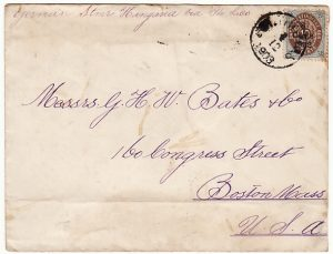 DANISH WEST INDIES-USA [1903 ST. THOMAS to BOSTON]